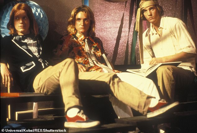 All-stars: Eric Stoltz, Sean Penn and Anthony Edwards in Fast Times At Ridgemont High in 1982