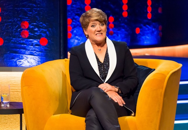 STRICT EMBARGO - NO USE BEFORE 00:01 BST FRIDAY 16TH OCTOBER 2020 - Mandatory Credit: Brian J Ritchie/Hotsauce Editorial Use Only Mandatory Credit: Photo by Brian J Ritchie/Hotsauce/REX (10954716bg) Clare Balding 'The Jonathan Ross Show' TV show, Series 16, Episode 1, London, UK - 17 Oct 2020 Clare Balding on how she thinks Japan will get the Olympics back next year, her error during a crowdless football game and acting dreams. Nick Frost reveals his paranormal experiences and top and tailing with Simon Pegg. Katherine Ryan details her regrets over writing a sex scene for herself. Samson Kayo discusses being mistaken for a paramedic. Billy Ocean performs and says his love for music and touring has grown.