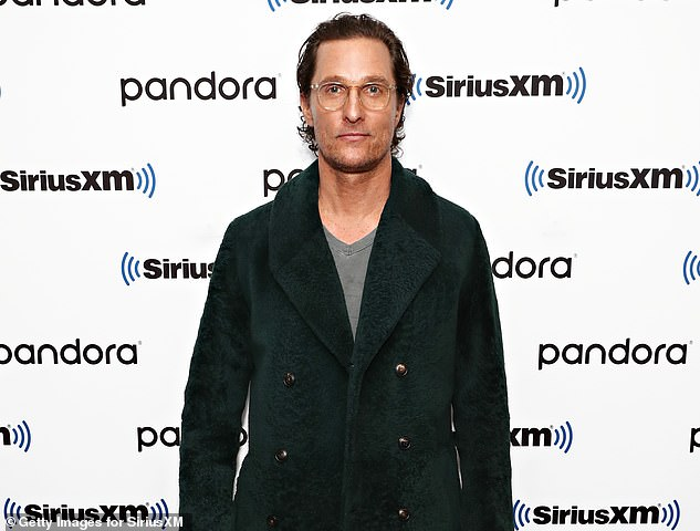 Candid: Matthew McConaughey has revealed in his memoir that he was molested at age 18 after being knocked unconscious by a man in the back of a van. Seen here in January 2020