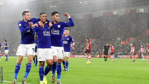 Southampton 0-9 Leicester