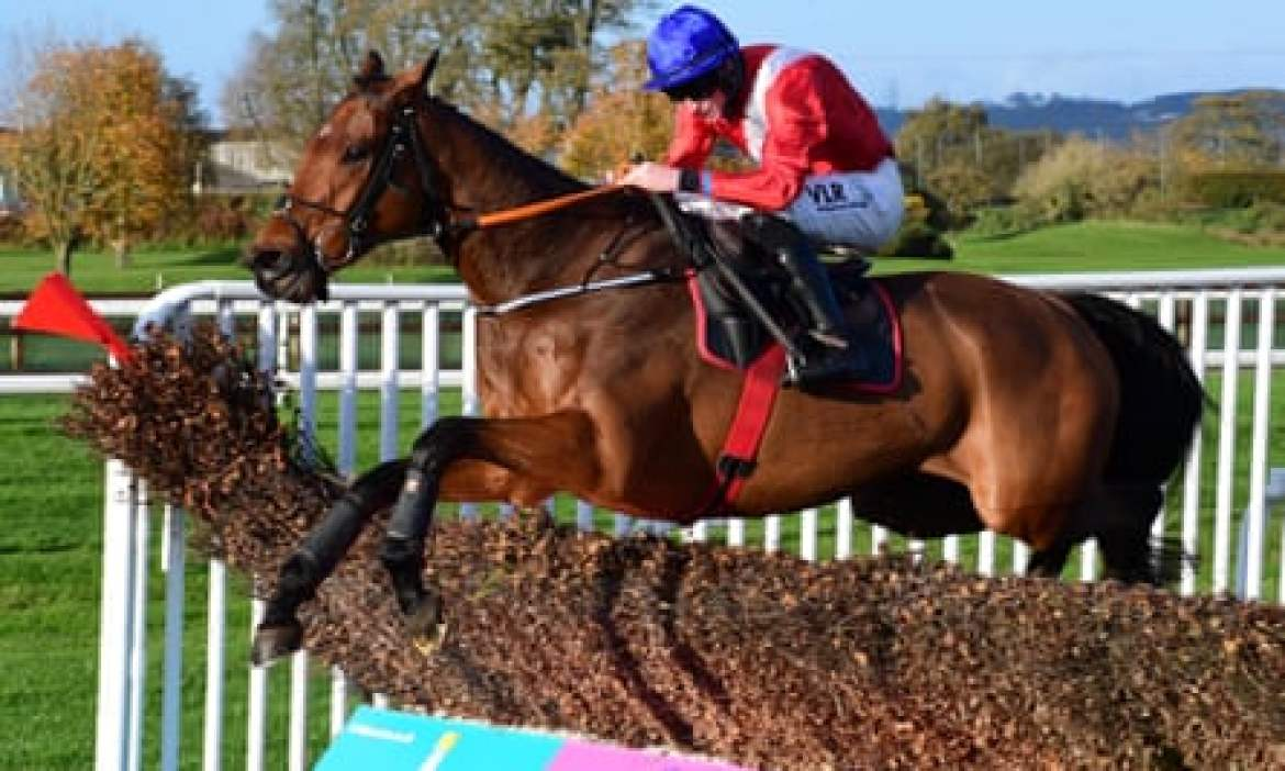 Envoi Allen jumps the last fence to win at Down Royal.