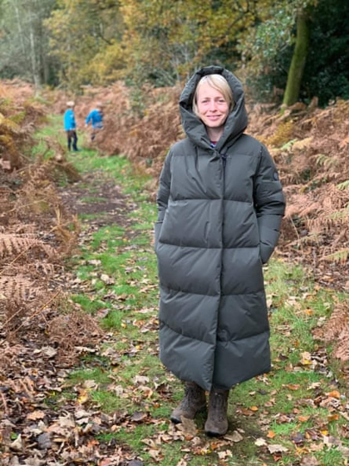 Galia Beech: 'It was like having a sleeping bag around me.'