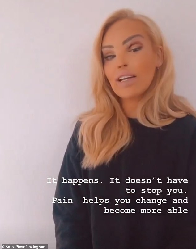 Shamed: She has become a victim of online bullying and Katie Piper revealed she was branded 'repulsive' and 'ugly' by online trolls on Friday after she appeared on Sky News