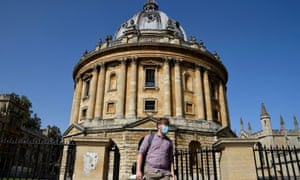 The Radcliffe Camera library building in Oxford.