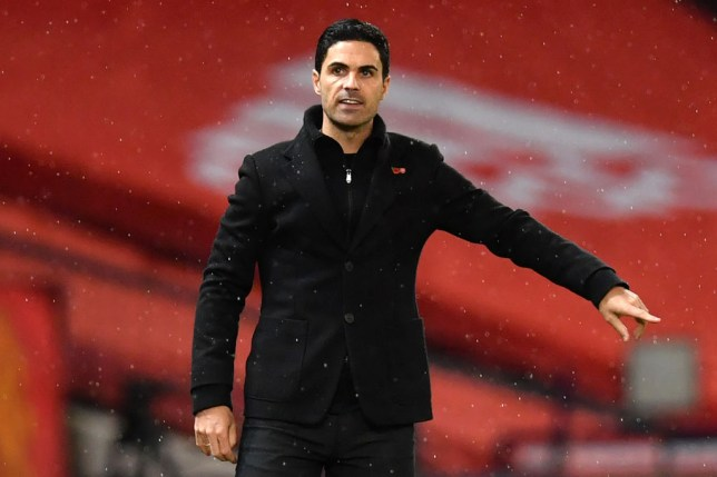 Arteta's side pulled off an important win against United on Sunday