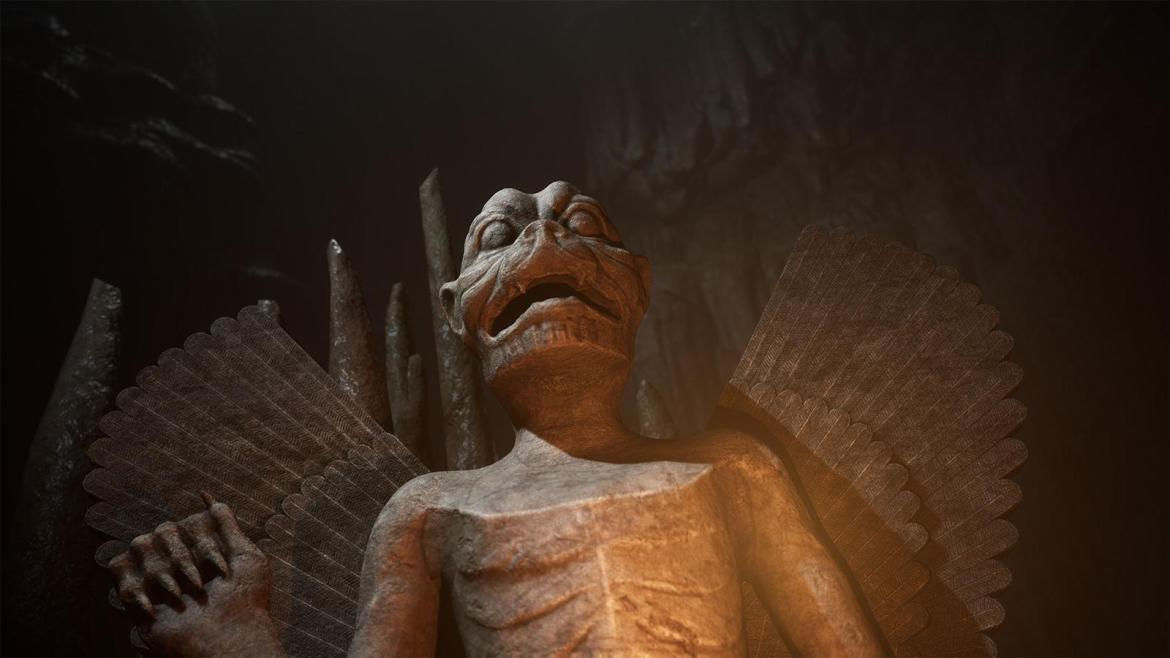 House of Ashes statue