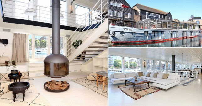 Luxurious five-bedroom houseboat on sale for ?3.5m