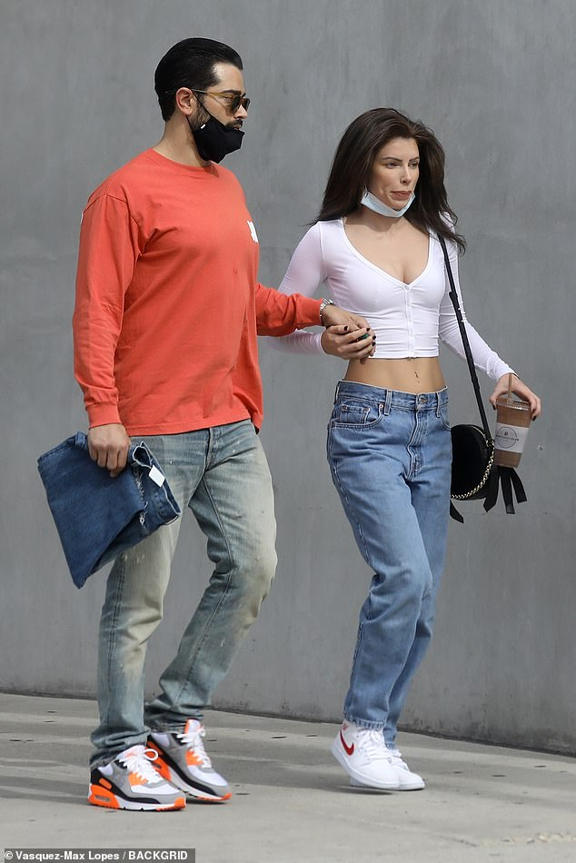 New girl: Desperate Housewives alum Jesse Metcalfe took a hand-in-hand stroll with a mystery brunette after stopping by smoothie bar Body Energy Club in West Hollywood on Thursday