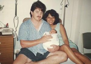 Sean and Lorraine Harrison in 1993.