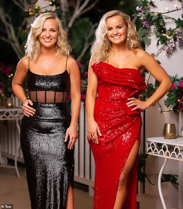 Becky, left, explained that she finds intelligence and confidence 'so sexy' in a party. 'Someone who can challenge me. A positive mindset and a warm smile is also very sexy,' she gushed