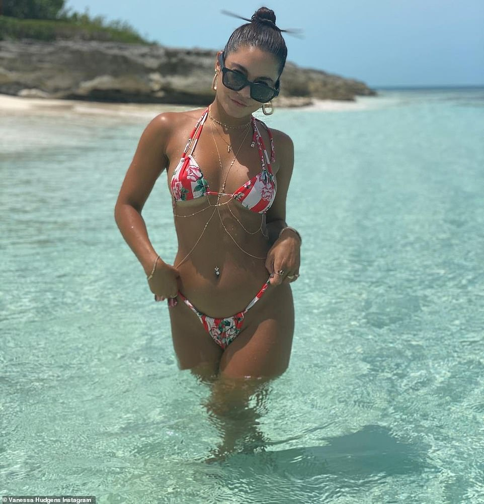 Bravo:'I feel like we could all use a vacation rn,' said the brunette bombshell to her nearly 40M Instagram followers which include Sailor Brinkley Cook and Ashley Tisdale. 'So here's some pics of me on vacation earlier this year'