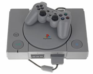 Console yourself … Sony's original PlayStation.