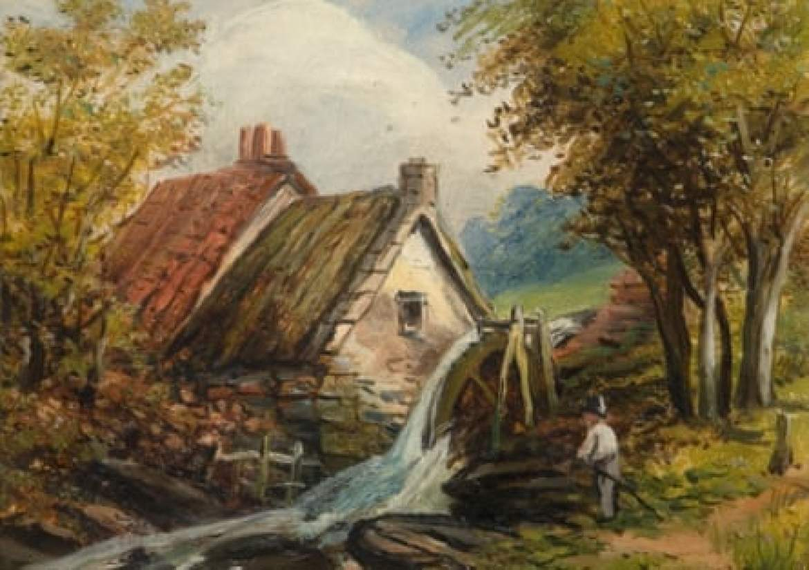 Sarehole Mill by Edward Wilden