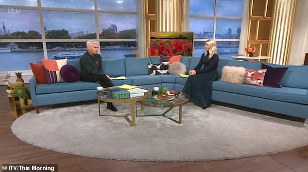 Apology: When the segment ended and the cameras returned to the studio, Phillip, 58, addressed the untimely disruption and apologised to viewers