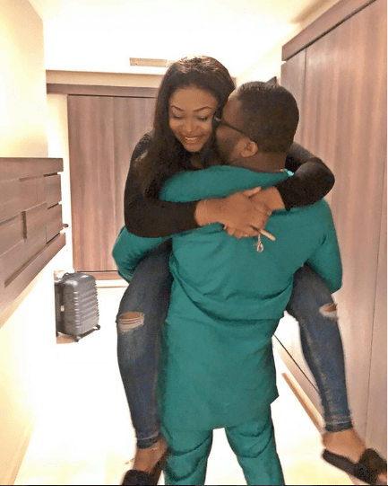 'Thanks for the love you give' – Actress Ruth Kadiri-Ezerika celebrates Valentine's Day with her husband