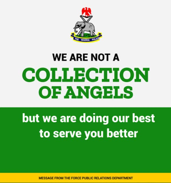 You're collection of devils, Nigerians blast Police over statement on Twitter