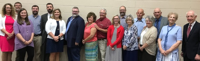 Highland Church of Christ elders, ministers, and wives