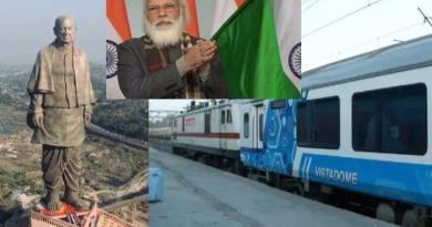 पीएम ने किया केवड़िया से विभिन्न रेल कनेक्टिविटी का उद्घाटन