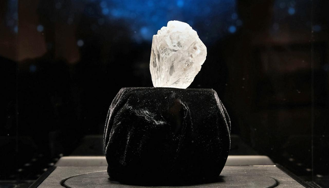 The World S Largest Diamond Sells For 73m Newshub