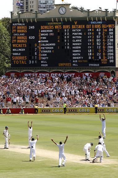 Australia vs England Ashes 2010: England WON 1