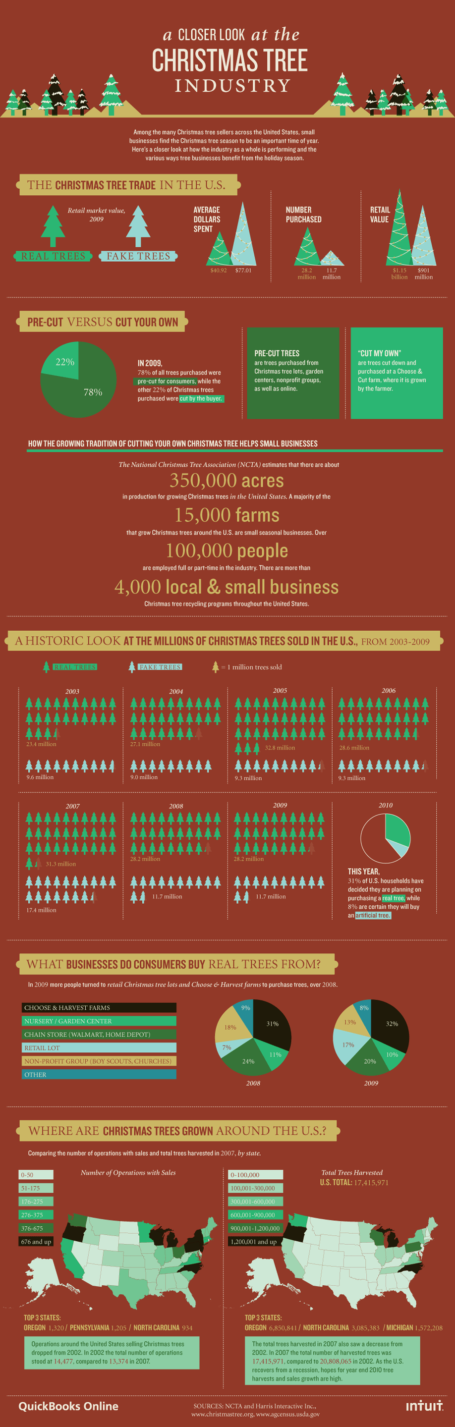 A Closer Look at the Christmas Tree Industry
