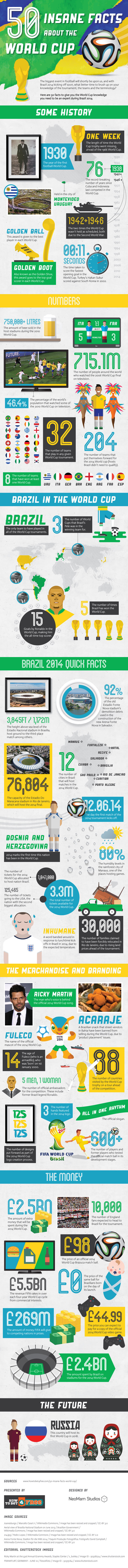 Facts About The FIFA World Cup