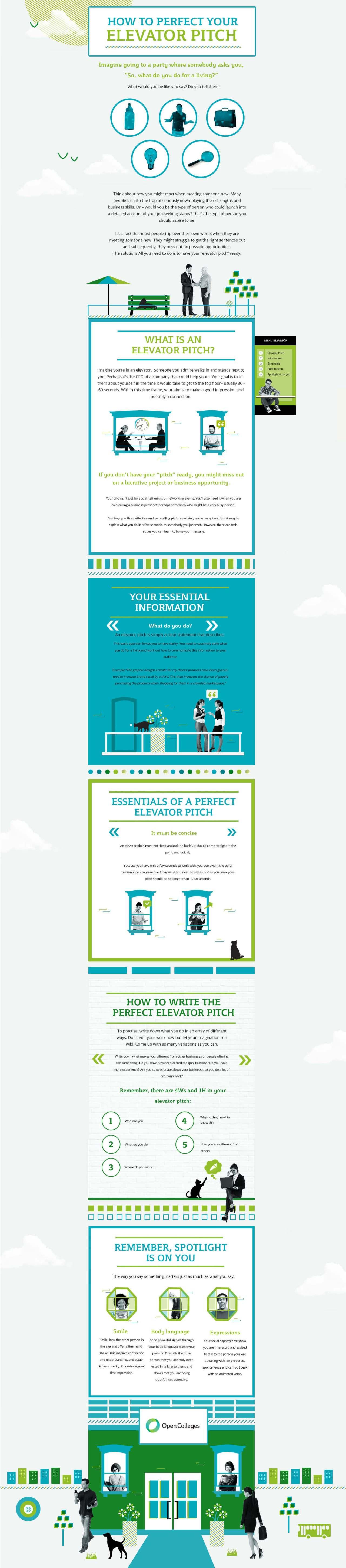 elevator infographic
