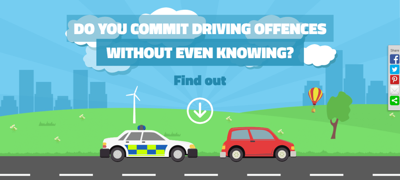 Do you commit driving offences