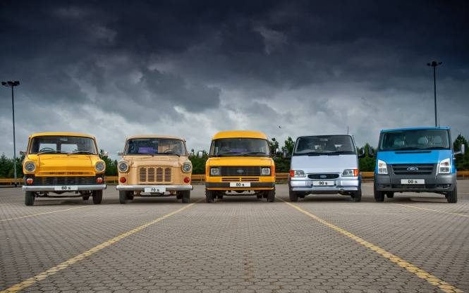 The Evolution of Ford Transit