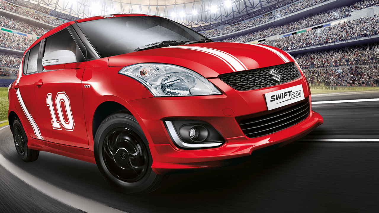 Maruti Limited Edition Swift Deca