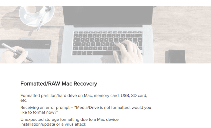 EaseUS Data Recovery Wizard for MAC 1