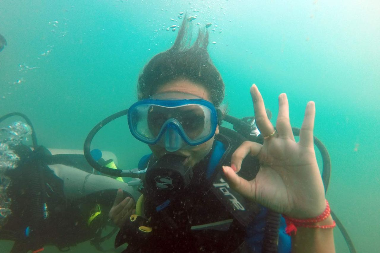 Experience Scuba Diving at Grand Island in Goa 1