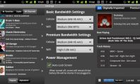 Five Excellent Radio Apps for Android: Digitally Imported Radio Screen