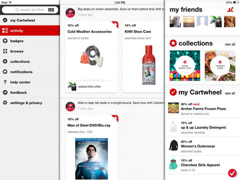 Apps iphone download free Cartwheel by Target