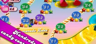 With Candy Crush Saga, not only you can experience joyful playing time, you can also enjoy the great images: Candy Crush Saga Apps