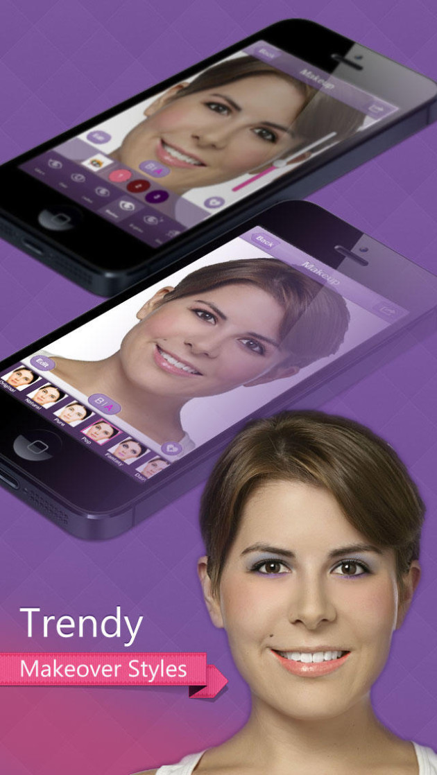 apps iphone Perfect365 - Face Makeup Editor, Beauty Enhancer & Fashion Artist