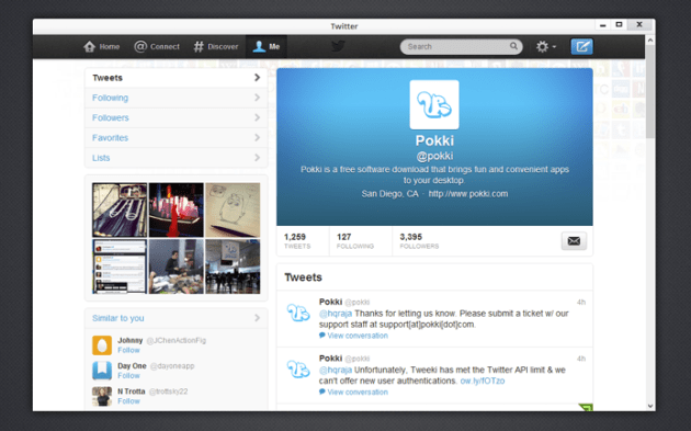 details app Twitter for iphone