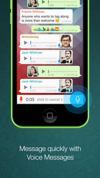 download apps WhatsApp Messenger for iphone