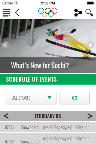 The Olympics - Official App for the Olympic Games