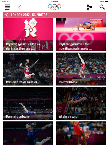 download apps The Olympics - Official App for the Olympic Games