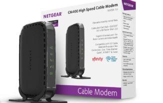 NETGEAR CM 400 DOCSIS Cable Modem