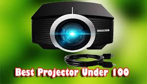 best cheap projector under 100