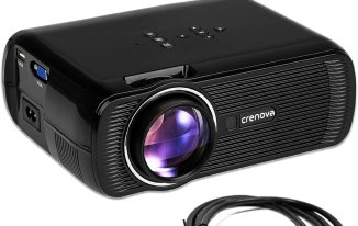 CRENOVA XPE460 LED Video Home Projector