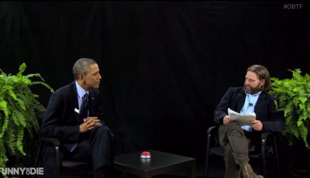 Ξεκαρδιστικό: Όταν ο Ζακ Γαλυφιανάκης συνάντησε τον Μπαράκ Ομπάμα (VIDEO)