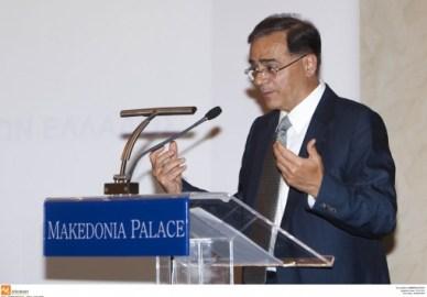 Χαμός σε ομιλία του Χαρδούβελη - Αποδοκιμασίες για τον ΕΝΦΙΑ - `Δεν είναι δικός μου νόμος, δεν θα απολογηθώ`