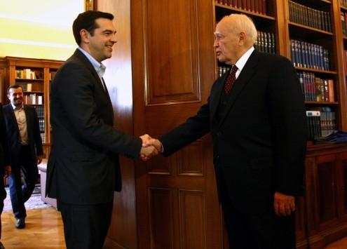 Με πολιτικό όρκο θα ορκιστεί στις 16:00 πρωθυπουργός ο Αλέξης Τσίπρας - Στις 14:30 θα δεί τον Αρχιεπίσκοπο Ιερώνυμο