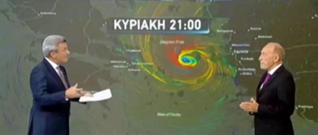 κυκλώνας Ζορμπάς καιρός