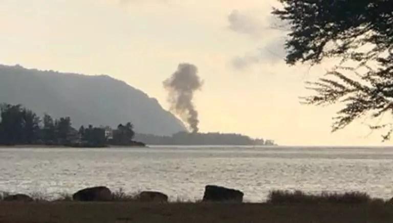 Χαβάη: Συντριβή αεροσκάφους – 9 νεκροί [pic]