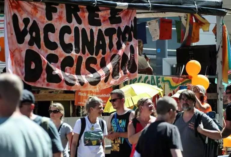 Γερμανία - διαδήλωση