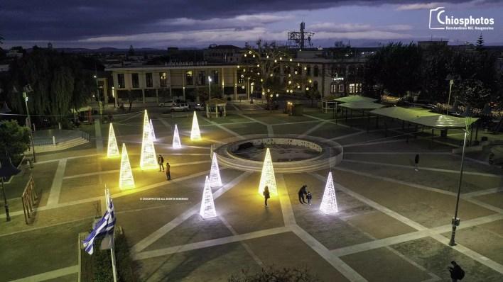 Ζήσε το όνειρο των Χριστουγέννων στη Χίο